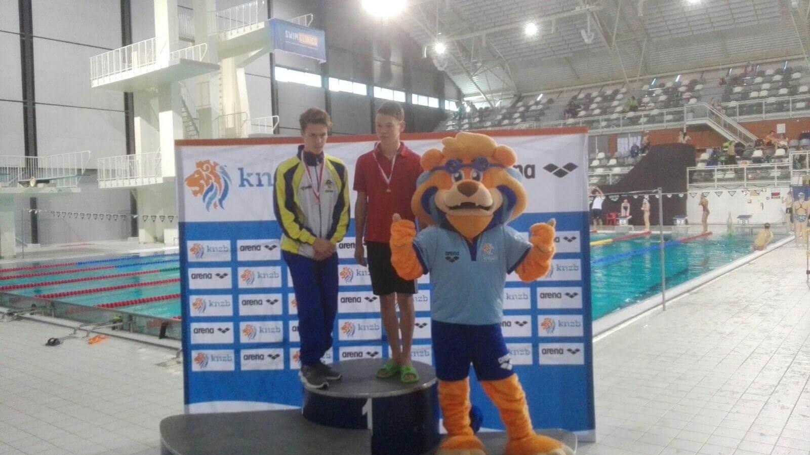 Een gouden medaille voor Jovanny Timmer op de 50m schoolslag