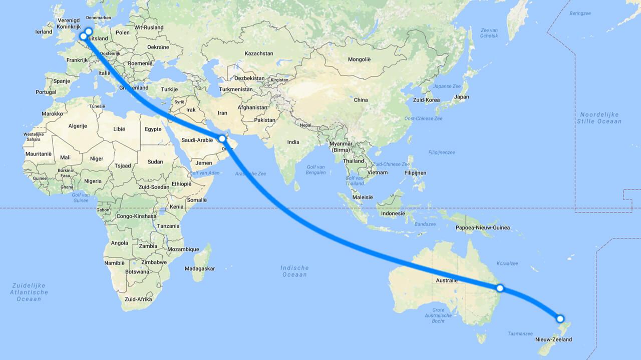 De reis van Koen Rooseboom naar Nieuw-Zeeland