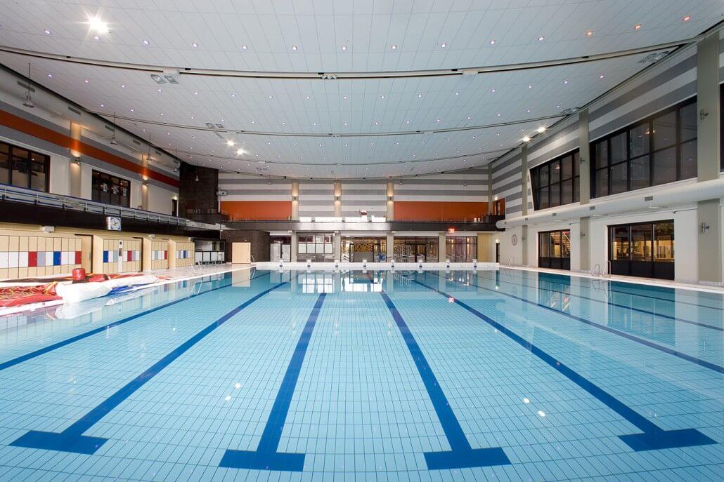 Z pc de spatters zwem en polo de peppel club beilen for Zwembad afmetingen